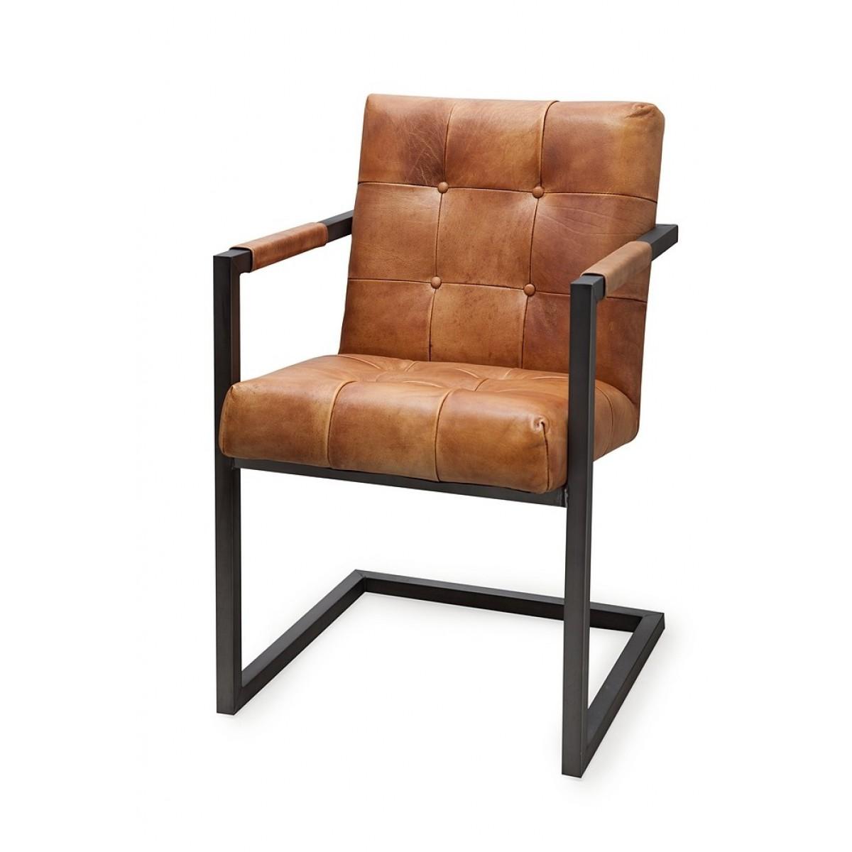 lederst hle mit metallbeinen m belideen. Black Bedroom Furniture Sets. Home Design Ideas