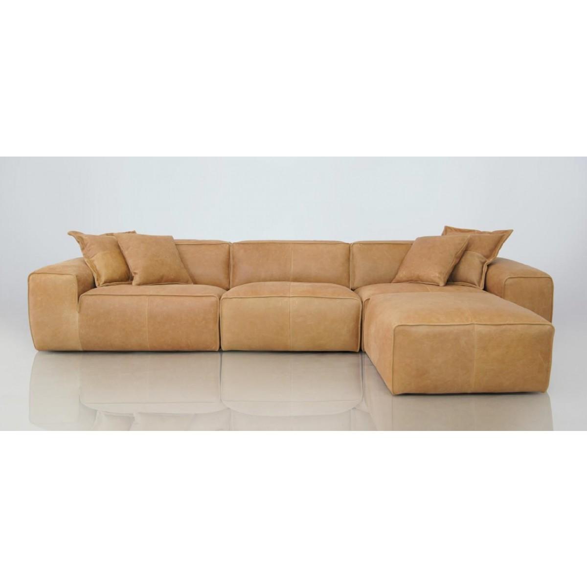 Ecksofa vintage leder  Bigg Sofa   Elementensofas Leder   I Live Design Preisgünstig online ...