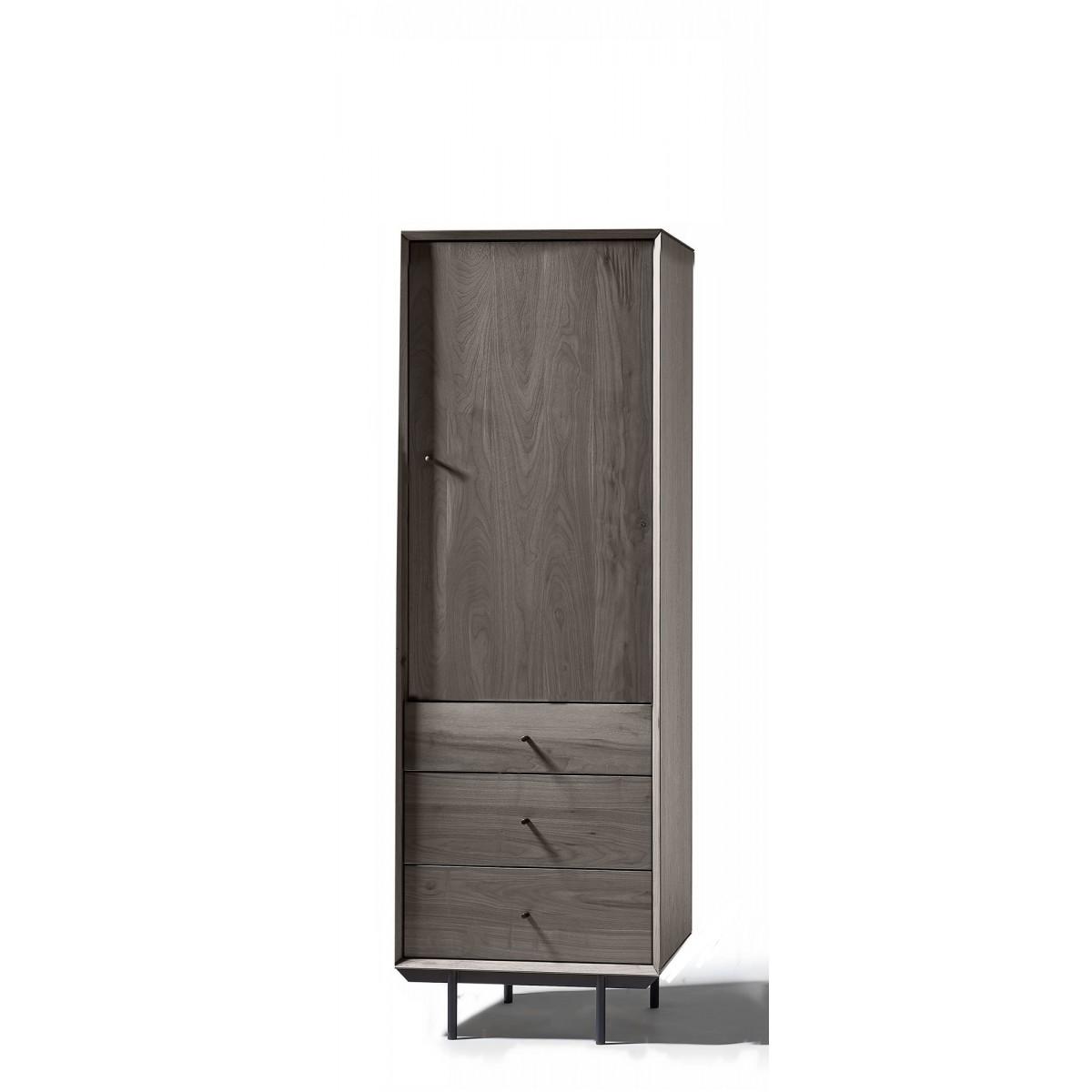 bergkast-clo2-deur-3-lade-noten-grijslak-miltonhouse