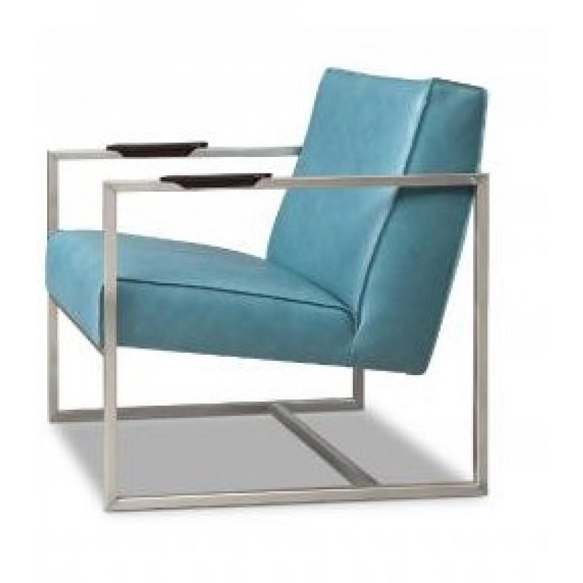 bibi-fauteuil-metaalframe-rvs-leer-leder-silk-petrol