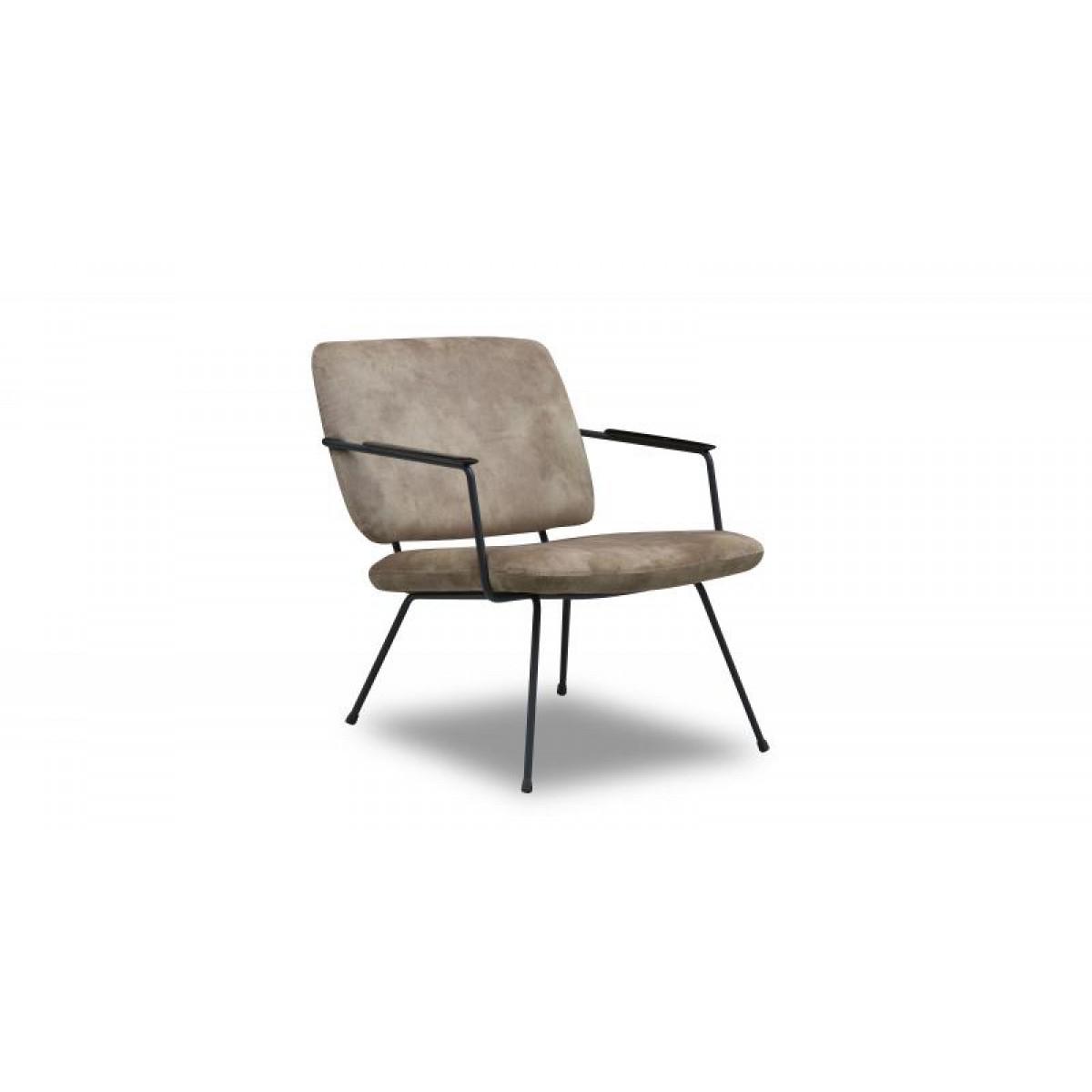 bossa-nova-fauteuil-metaalframe-eco-leer