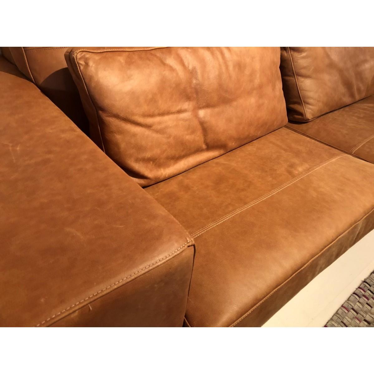 casa-casey-bank-longchair-leer-inferno-cognac-detail