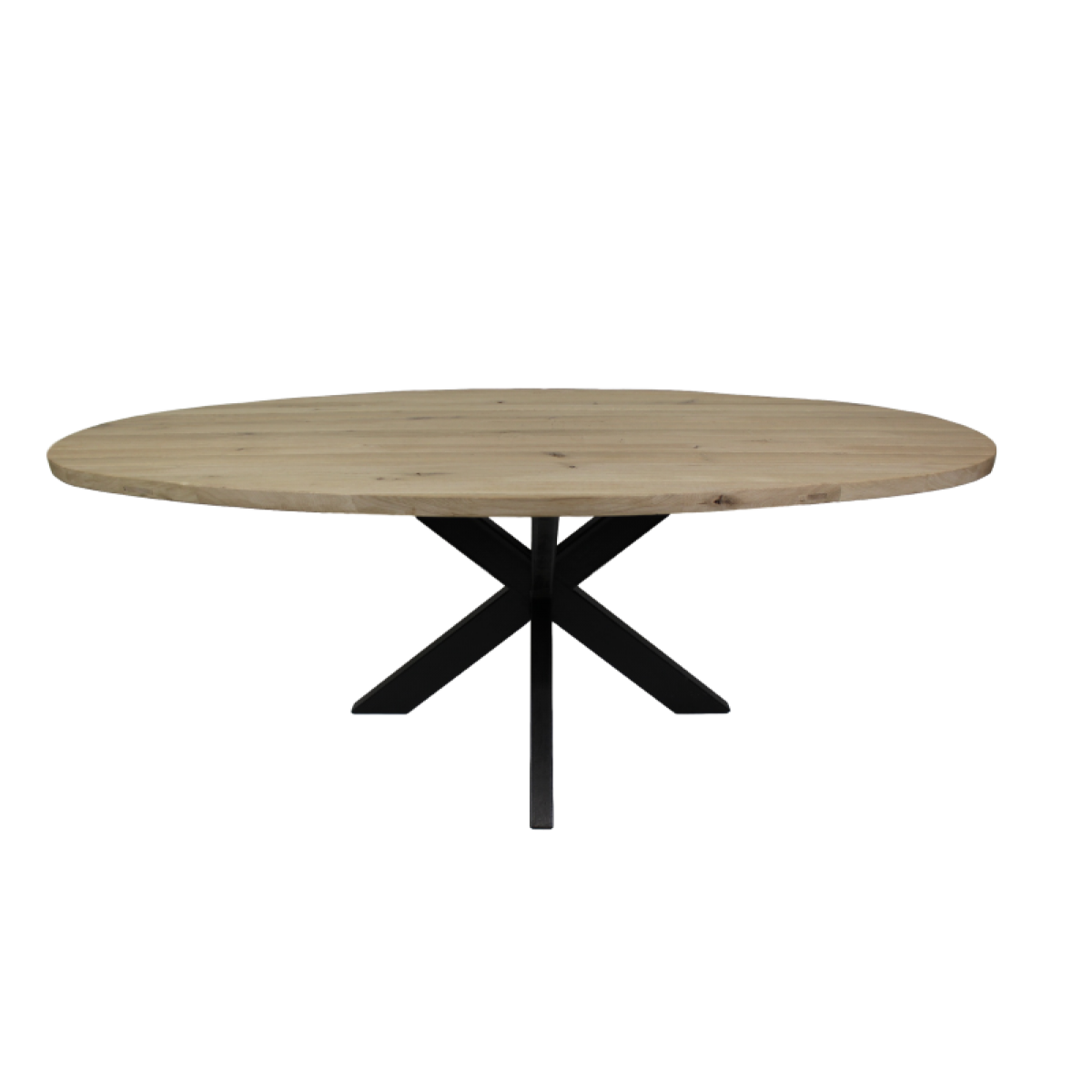 Esstisch Oval Eiche X3d Bein Metal I Live Design Preisgunstig Online Moebel Kaufen