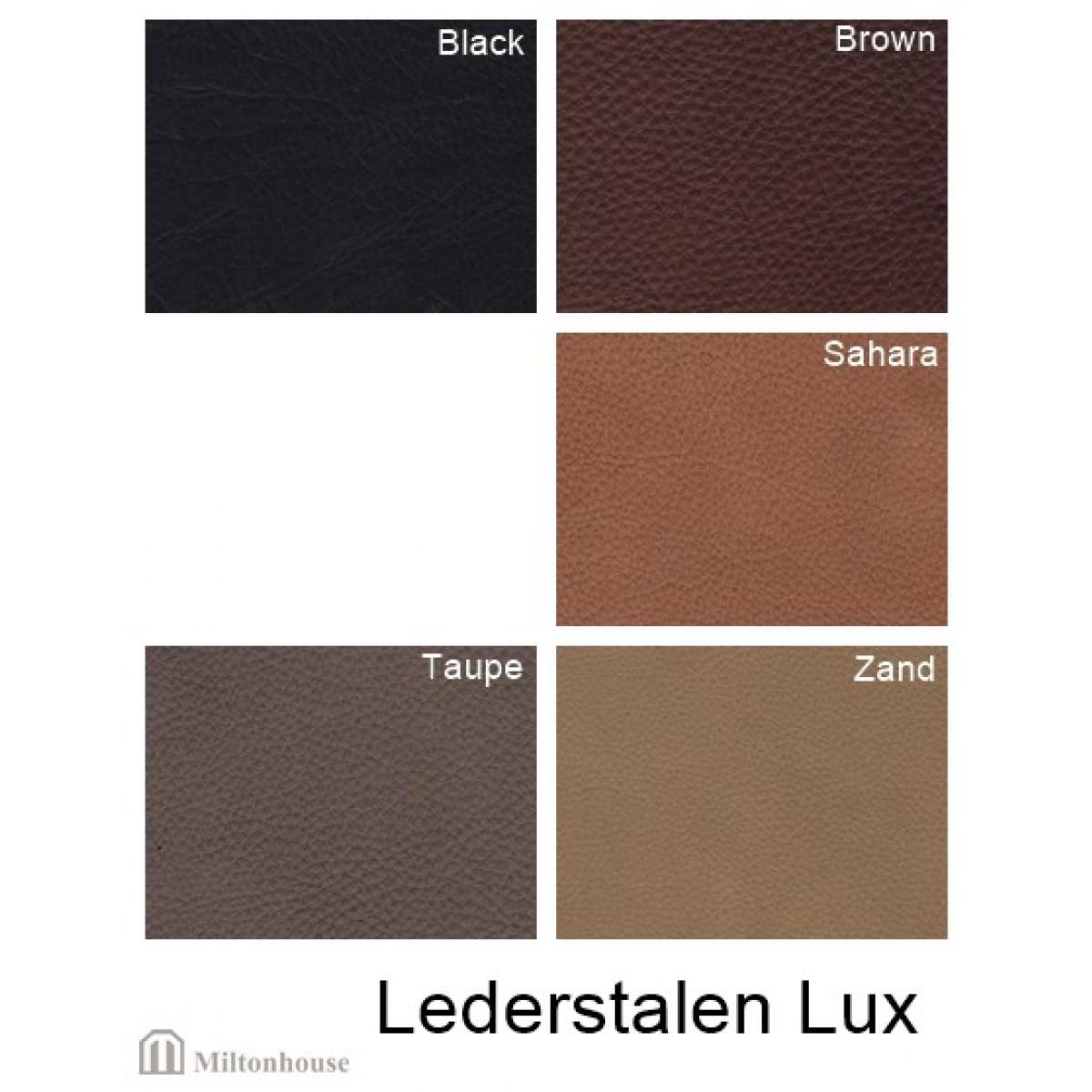 Lux-leer-stalen
