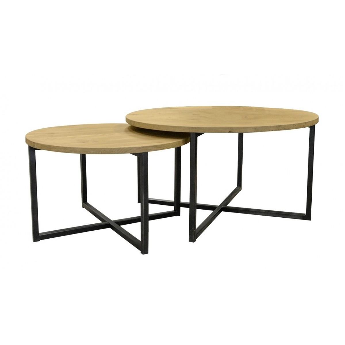 salontafel-set-van-2-metaalframe-eiken-blad-75x75-60x60-cm-naturel