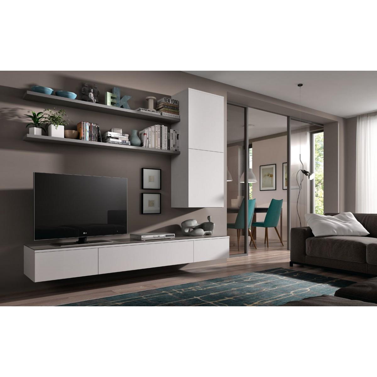 Hangend Tv Lowboard Float 221 Cm I Live Design Preisgunstig Online Moebel Kaufen
