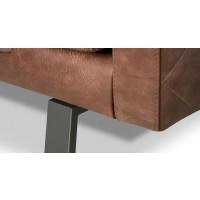 aragon-design-bank-retro-bankstel-ruitmotief-carré-stiksel-hetanker-detail-poot