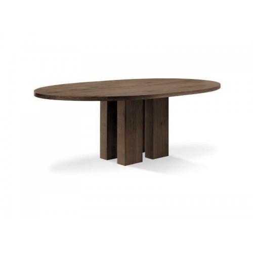 Oval Esstisch Eiche | I Live Design Preisgünstig online Moebel kaufen