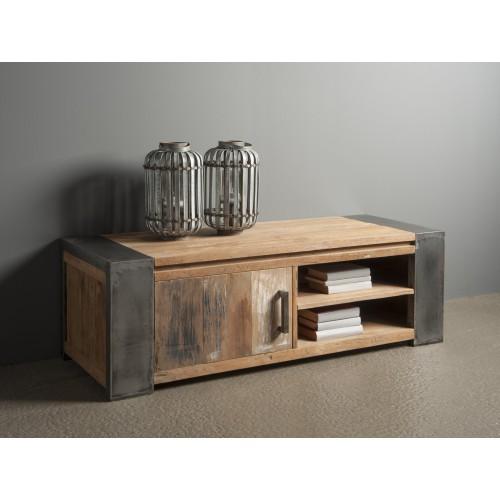 tv-sideboard-möbel-novara-recycled-teakhout-metalen-poot-industrieel-robuust-140cm