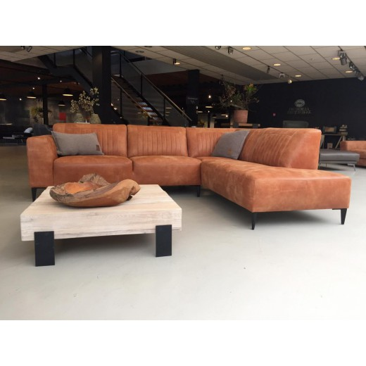 Aspen Ecksofa eko leder - L'ancora Collection