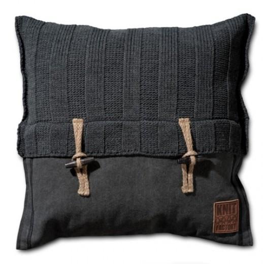 Knit Factory kussen Rib 50 x 50